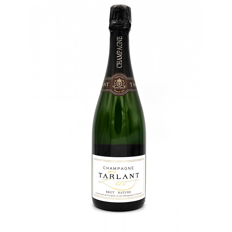 Champagne Tarlant Zéro Brut Nature