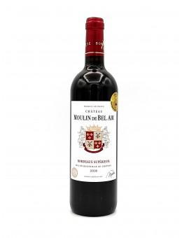 Château Moulin Bel air Bordeaux supérieur 2016 (bio)